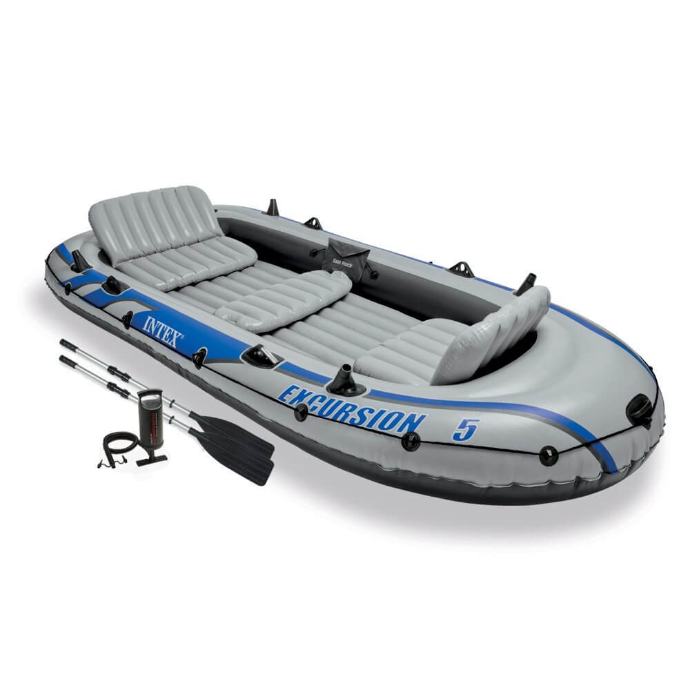 Intex Excursion 5 Inflatable boat set review