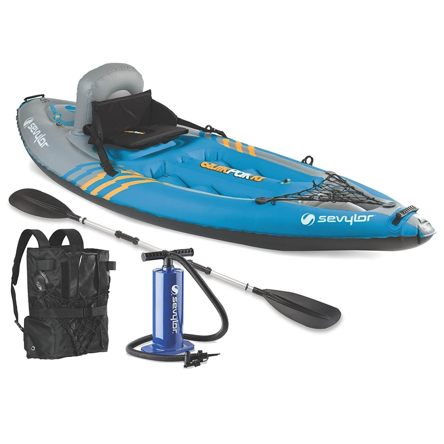 Sevylor Quickpak K1 Fishing Kayak