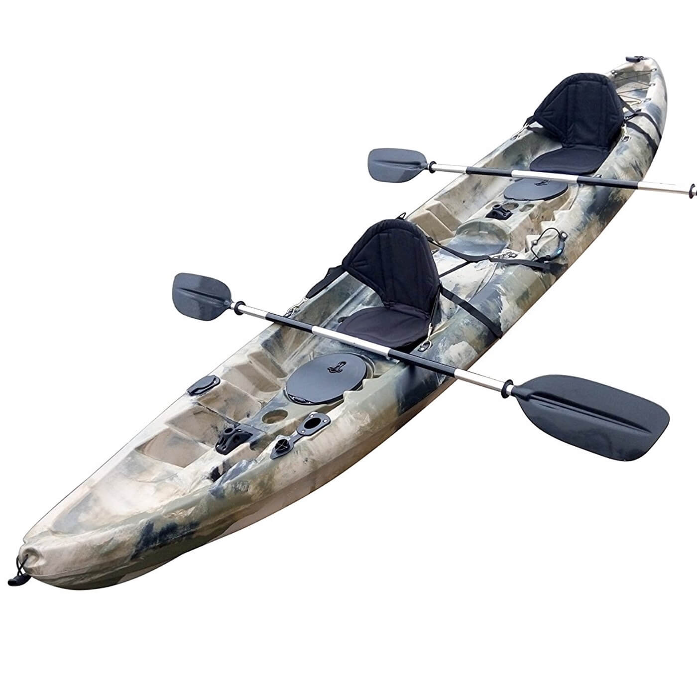 BKC UH-TK219 tandem fishing kayak review
