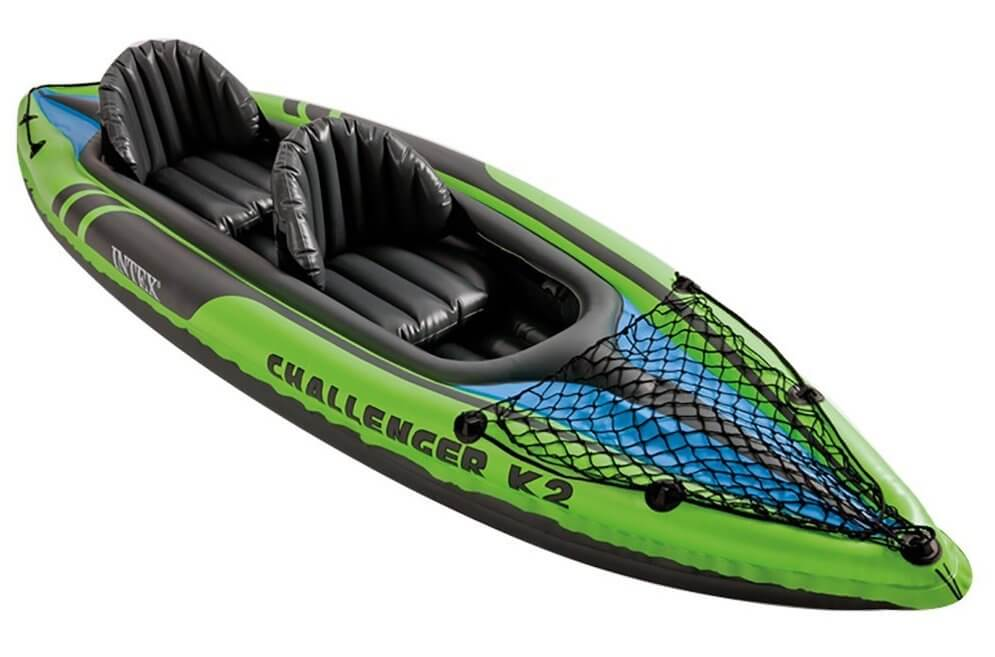 Intex Challenger K2 fishing tandem kayak