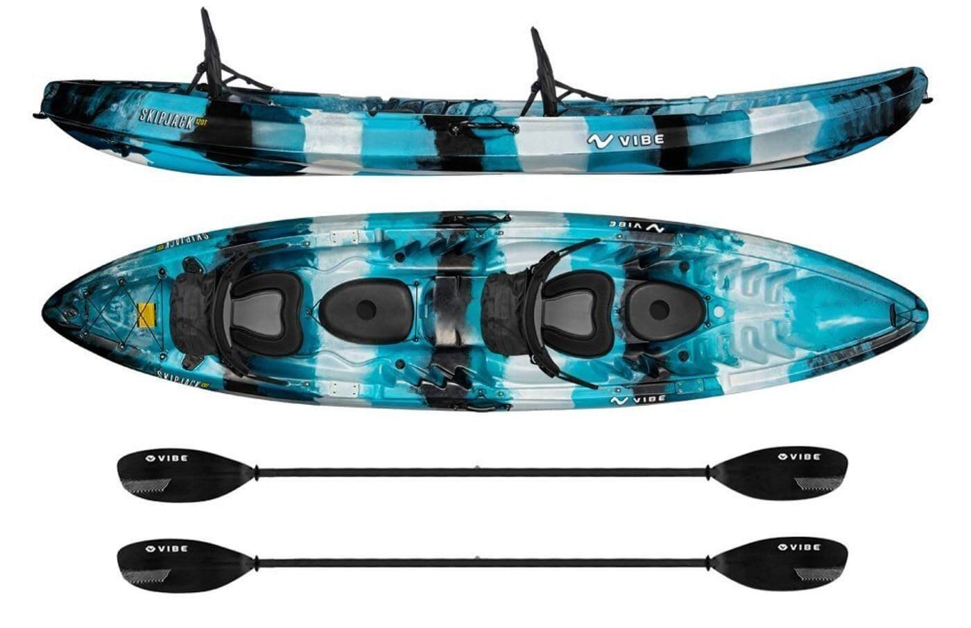 Types of kayaks and their suitability for fishing for Best tandem fishing kayak