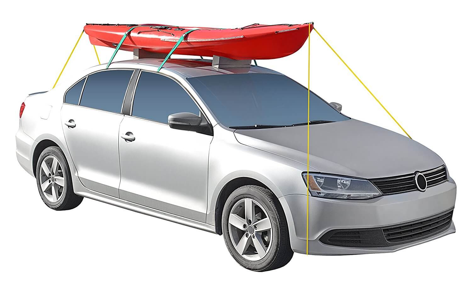 transport a kayak without roof rack